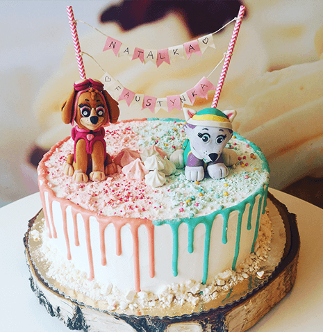 Tort z firgurką - Miasteczko dzieci