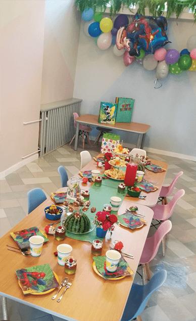 Poczęstunek dla dzieci - Miasteczko Dzieci